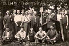Cech Rzemieślniczy w Nisku, zdjęcie wyk. 15 lipca 1945 r.