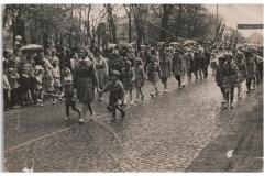 Pochód 1-Majowy, 1961 r. (arch. pryw. K. Cerwik)